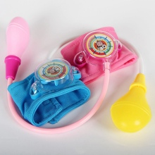 Doctor Toys Medical Toys 2-4 years Doctor Kit Toy Kids Doctor Set Speaking At Home Doctor Nurses Blood Pressure Toys Medical(China)