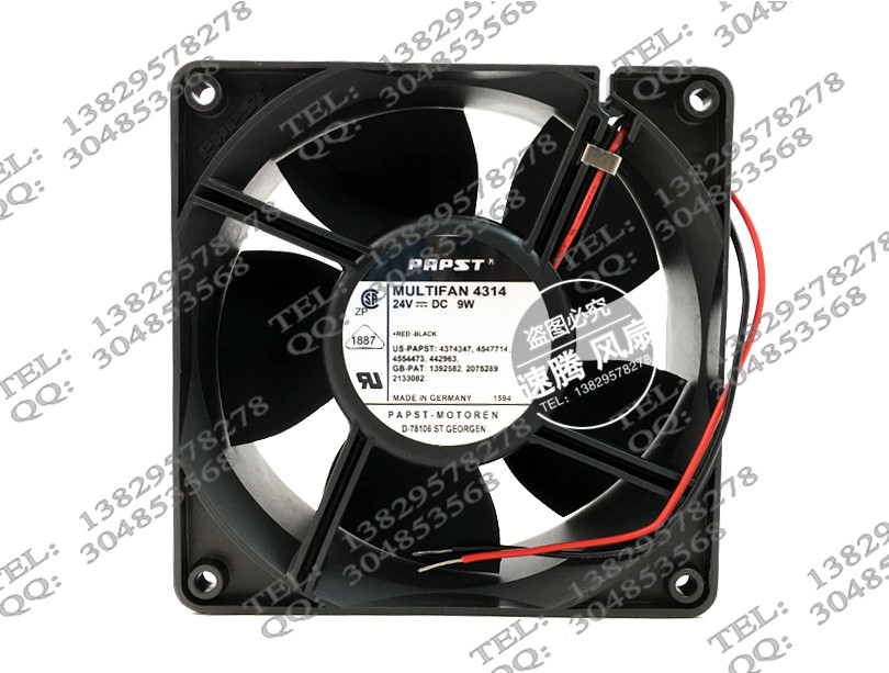 12038 24V Welding MULTIFAN 4314 9w 12CM cooling fan<br>