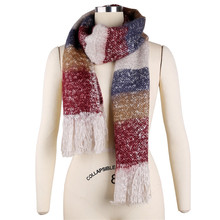 Women Winter Mohair Scarf Long Size Warm Fashion Scarves & Wraps For Lady Casual Soft Scarf Accessories 205*70cm BZ987003