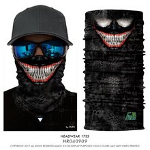 Fashion lion/ dragon / tiger face mask 3D Print Headwears Bandana Buffe Multi Super Quality 3D Animal Bandana Seamless Scarves