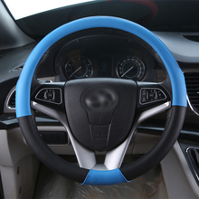New Style Car Steering Wheel Cover All year fit  Size 36cm  38cm For Seat Fiat Cadillac Lancia Kia etc. 95% Cars