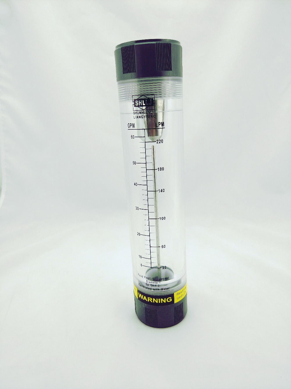 LZM-40G acrylic and SS(stainless steel) float Pipeline water or gas tube type  flow meter<br>