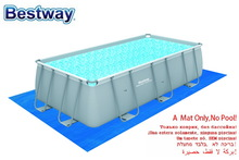 "58264 Bestway 5mx3m Matress 197""x118"" Ground Cloth Providing Extra Protection to the Bottom of Above Earth Swimming Pool No Pool"