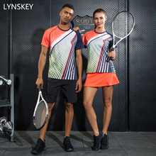 Buy LYNSKEY Women Tennis Set Men Badminton Table Tennis Shirt+Shorts/Skirt Breathable Quick Dry Sport Clothes for $20.64 in AliExpress store