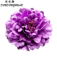 Best Deal Hot Selling ! Fashion Summer Girls Bohemia Hairpins Women Beach Holiday Headwear Peony Flowers Hair Clips 1pc