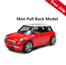 1:43 Mini Metal scale models car toy, Miniature model cars for kids baby toys Diecast pull back Union Jack cheap automobiles