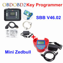 SBB V46.02 Auto Key Programmer PRO OBD2 Transponder Silca SBB V33.02 OR V46.02&Mini Zed Bull SW V508 Works Multi-Car Key Maker(China)
