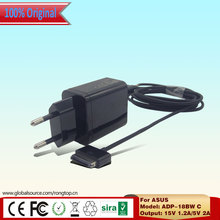 Original 15V 1.2A/5V 2A USB Charger Power Supply For Asus Eee Pad TF101 TF201 ADP-18BW C Tablets Pad Transformer AC Adapter