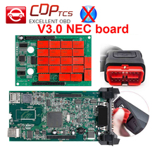Double Green V3.0 NEC board CDP TCS pro no Bluetooth 2015.R3 keygen software OBDII scanner cars trucks OBD2 diagnostic-tool