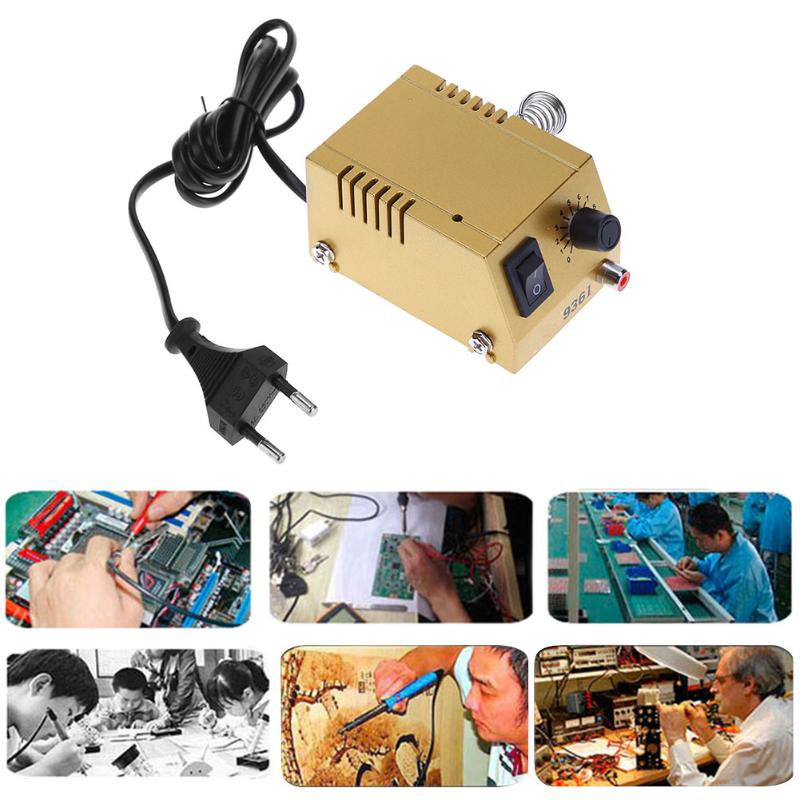 936I 220V 18W Thermostatic Electric Soldering Iron Mini Solder Station for Efficient Welding repair tools<br>