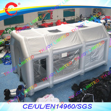 free air shipping,8x5x3.5mH Inflatable Spray Booth,Portable Paint Booth For Sale,Mobile Work Station Car Painting Room