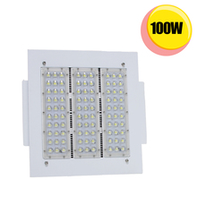 LED gas station 100watt retrofit canopy light fixture HID 400W 100~277V 6000K cool white IP65 waterproof outdoor light fixture(China)