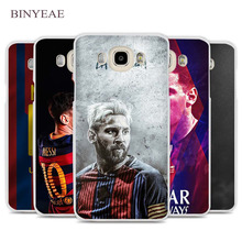 BINYEAE Lionel Messi Cell Phone Case Cover for Samsung Galaxy J1 J2 J3 J5 J7 C5 C7 C9 E5 E7 2016 2017 Prime