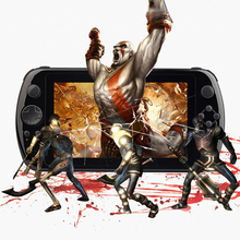 New brand high quality Q9 GamePad Game 7 inch Tablet PC RK3288 Android 4.4 Quad Core Game Handheld Console game console