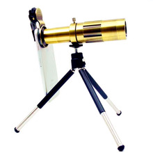 Buy 20X Telephoto Lens Kit Zoom Optical Telescope Camera Lens Universal Focus Mobile Phone Lens Mini Tripod Clip for $26.72 in AliExpress store
