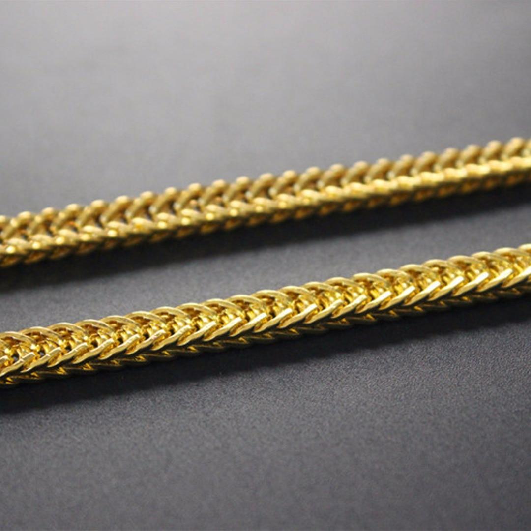 Punk Men's DIY Chain Necklace Making Shellhard Vintage Long Chains For Women Jewelry Accessories Femme Bijoux 50cm