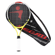 2 Pcs Junior Tennis Racquet Training Racket with Racket cover bag for Kid Youth Childrens initial Tennis training exercises(China)