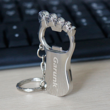 Garunk Pendrive real capacity Cute Metal mini feet beer opener usb flash drives 4G 8G 16G 32G USB Flash 2.0 Memory Drive Stick