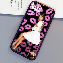 Violetta tini Printed Soft TPU Skin Mobile Phone Cases Bags For iPhone 6 6S Plus 7 7 Plus 5 5S 5C SE 4S Back Cover