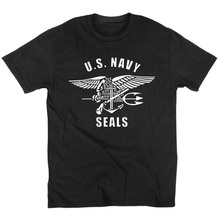 Novelty Camisetas Fitness U.S.NAVY SEALS TEAM SIX T Shirts United States Navy Seals T Shirt Cotton O NECK short sleeved t-shirt