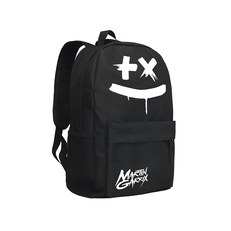 Famous Singer Martin Garrix Backpack Dont Look Down Men Rucksack Teenagers Backpack Oxford Mochila<br>
