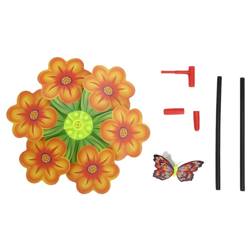 juguetes de mariposa decoraci/ón de jard/ín colorido Fuwahahah molino de viento para ni/ños giratorio para exteriores