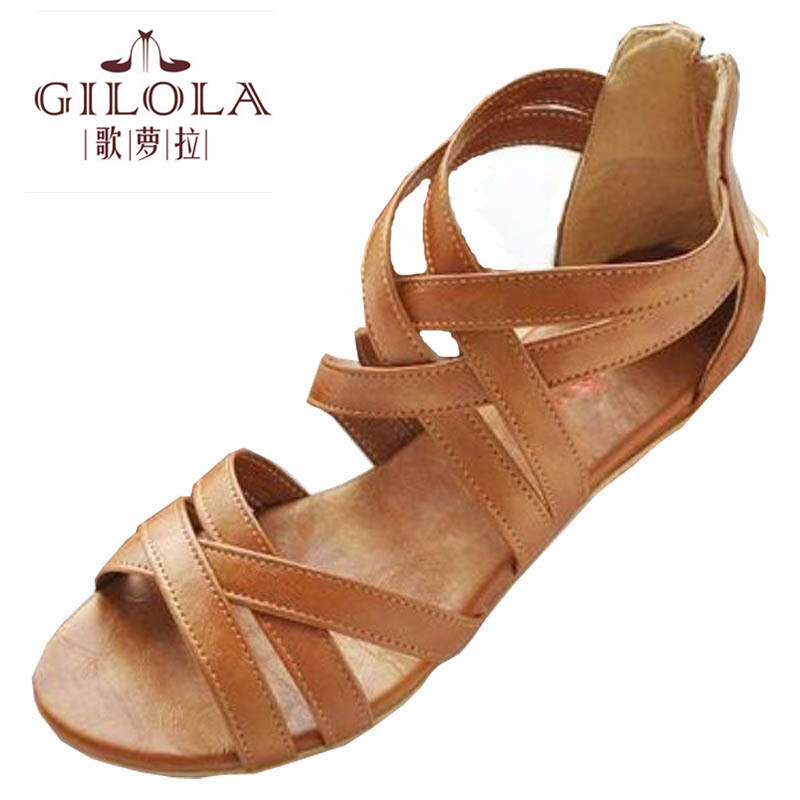 GILOLA size 34-43 new flat women sandals for women flats woman shoes spring summer womens shoes #Y0508616F<br><br>Aliexpress