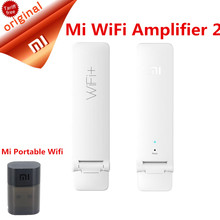 Original Xiaomi Wirless Mi WiFi Amplifier 2 300MPS Universal Xiaomi Mi Wifi Repeater  Xiaomi Portable USB WIFI Wireless Router