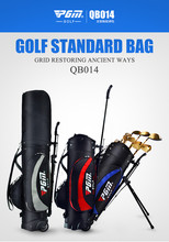 High Quality Multifunctional Portable Golf Bags Golf Rack Bags Golf stand bag With Pulley(China)