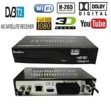 Digital DVB t2 DVB T H.265 HEVC HD Satellite 48~866M TV Receiver Supports DTS Youtube Wifi DVBT2 DVB-T MPEG-2 Set Top TV Box(China)