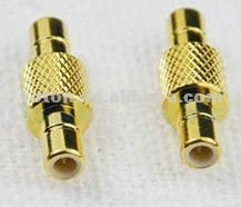 SMB male to male plug straight RF connector adapter SMB connector