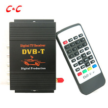 140-190km/h Car Mobility DVB-T Digital TV Tuner Receiver BOX MPEG2 MPEG4 AVC/H.264 with USB HDMI Slot for Car DVD Player LCD TV(China)