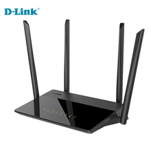 Discount Cheap D-Link 1200Mbs English Russian 5G Modem Home Fiber WiFi Router Firmware 2.4G/5Ghz Gigabit Smart Wireless Router