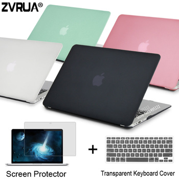 ZVRUA Laptop Case For Apple MacBook Air Pro Retina 11 12 13 15 for mac book inch