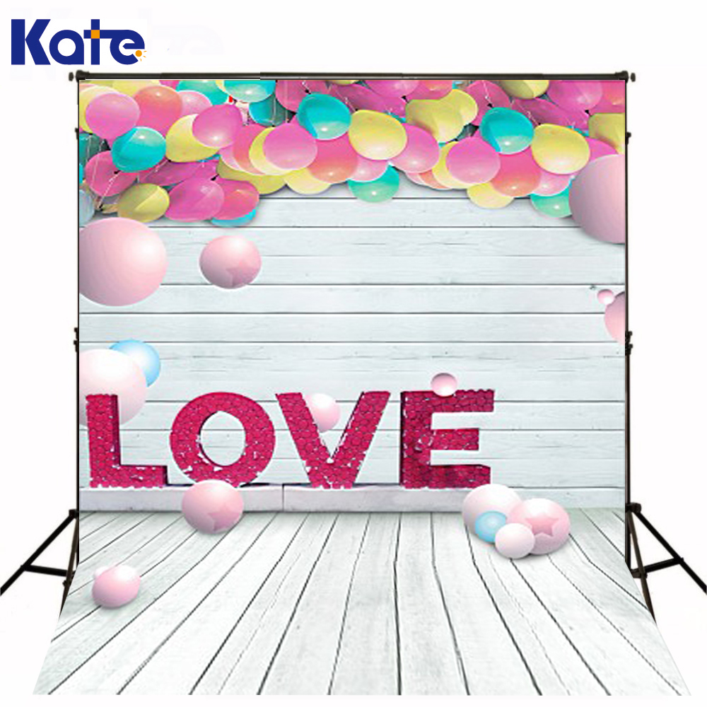 200Cm*150Cm Backgrounds Love Love Lovers Object Interaction Balloon Round Wooden Floor Walls Photography Backdrops Photo Lk 1193<br>