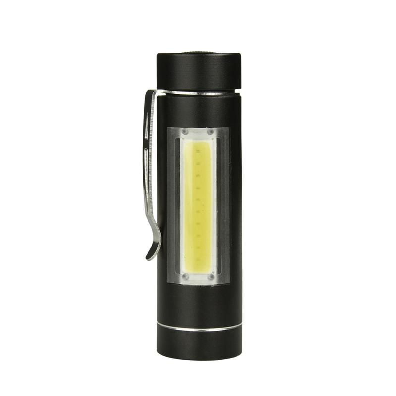 1000 Lumens Special Side Light Portable Brightness EDC Tactical LED Flashlight