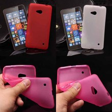100pcs Newest Fashion Soft TPU Case for Microsoft Lumia 640 N640 silicone back cover Case for Nokia 640 phone pouch