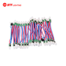 50pcs Non-waterproof 12mm WS2811 2811 Pixel node Module Light String Addressable RGB LED Module DC5V