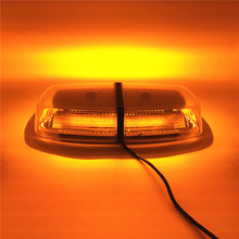 Amber car LED Warning Lights Magnetic Mounted Vehicle Police LED Flashing Beacon flash Strobe Emergency Light Lamp