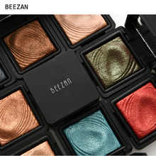 Vintage Fashion Color 2017 Brand Glitter Eyeshadow Palette Waterproof Make Up Shimmer Powder Eye Shadow Pigments Single Palette