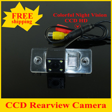 4LED Car rear view camera Backup camera for VW Passat B5 Passat (MK5) 2001-2005 Touareg Tiguan Polo Sedan(2008-2009)  Fabia