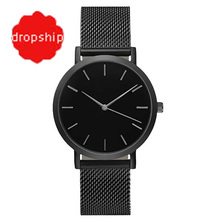 Splendid Fashion Women Crystal Stainless Steel Analog Quartz Wrist Watch Bracelet Dress Watches(China)