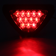 Fog Lamp LED Flash Bulbs Universal Triangle Tail Light Car Brake Light Red #HP(China)