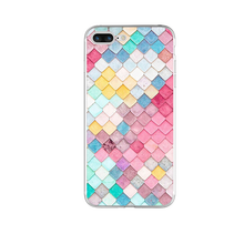 Colorful Mermaid For iPhone 4 4S 5 5S SE 5C 6 6S 7 Plus X 8 Case For Xiaomi Redmi 4 4A 3S 3 S 4X Note 3 4 Pro Prime 4X