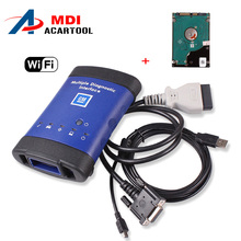 2017 Top selling For GM MDI +wifi+hdd Multiple Diagnostic Interface For Gm Mdi Diagnostic Tool With DHL FREE Shipping