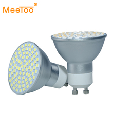 Super Bright GU10 Dimmable LED Spotlight 120V 220V SMD2835 Led Lamp Light Base Lampada LED Bulbs for Home Chandelier Spot Light