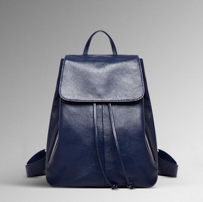 071017 new hot female fashion leather backpack lady travel bag<br>