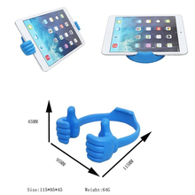 Universal funny Thumbs-up Adjustable Flexible OK Stand phone & Tablet PC Stand Desktop Mount Holder For Mobile Phone for ipad
