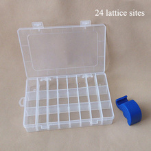 Practical Plastic Compartment Storage Jewelry Beads Box Case Holder Craft Organizer HG99