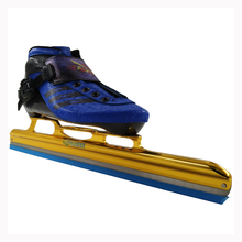 PASENDI Professional Adults Speed Ice Skating Shoes Women/Men Ice Hockey Skates New Style Kids Ice Blade Inline Roller Skate(China)
